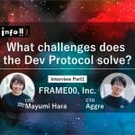 FRAME00 CEO Mayumi Hara and CTO aggre Special Interview Part 1